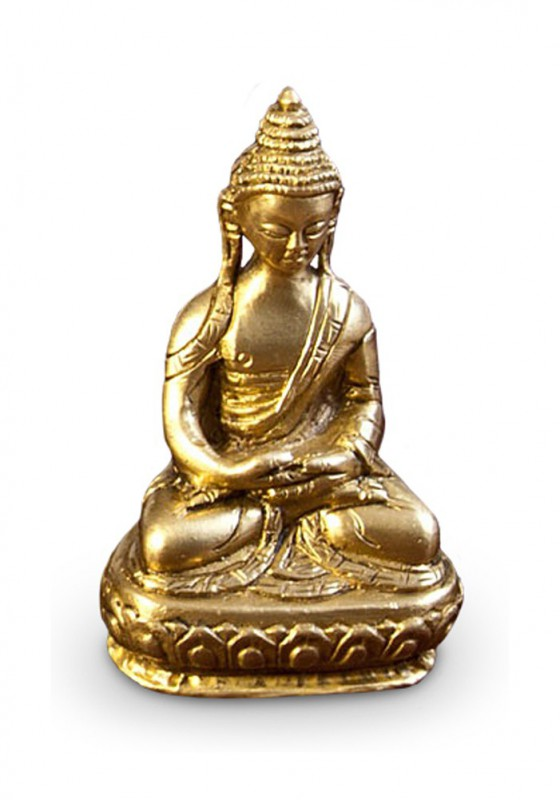 deko figur buddha figur amithabha sitzend messing h he 7 5 cm klein asiatische gottheit. Black Bedroom Furniture Sets. Home Design Ideas
