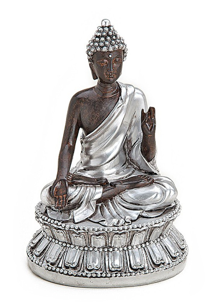 deko figur buddha figur amoghasiddhi sitzend statue aus. Black Bedroom Furniture Sets. Home Design Ideas